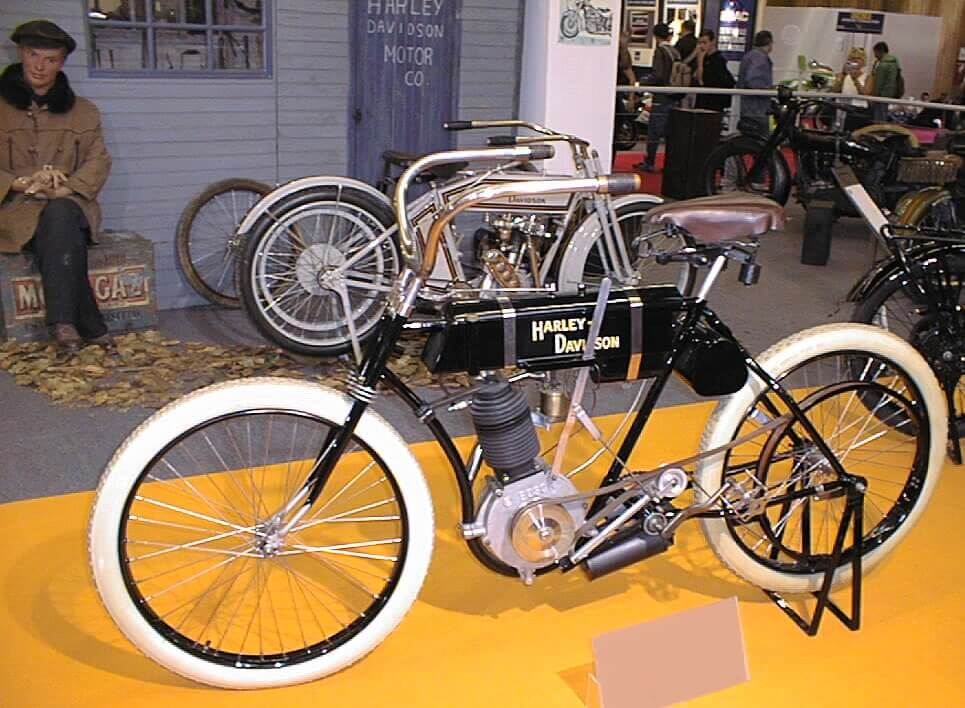 Harley Davidson Serial Number One Bike