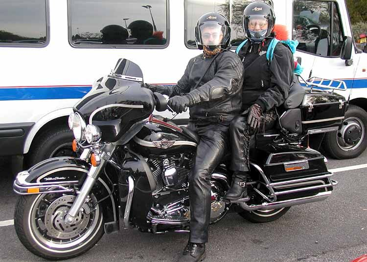 Harley Touring bike