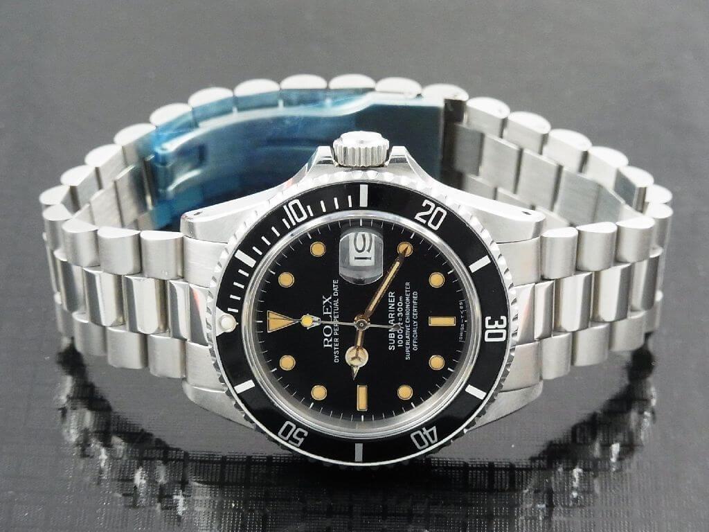 President bracelet rolex submariner