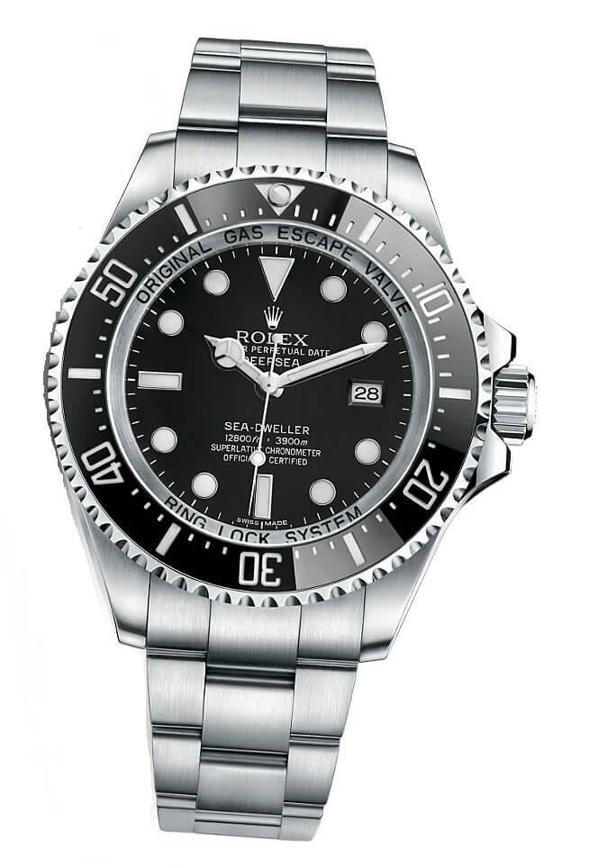Rolex Deepsea 12800 feet 3900 m