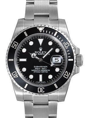 Rolex Submariner Ceramic Bezel 116610LN