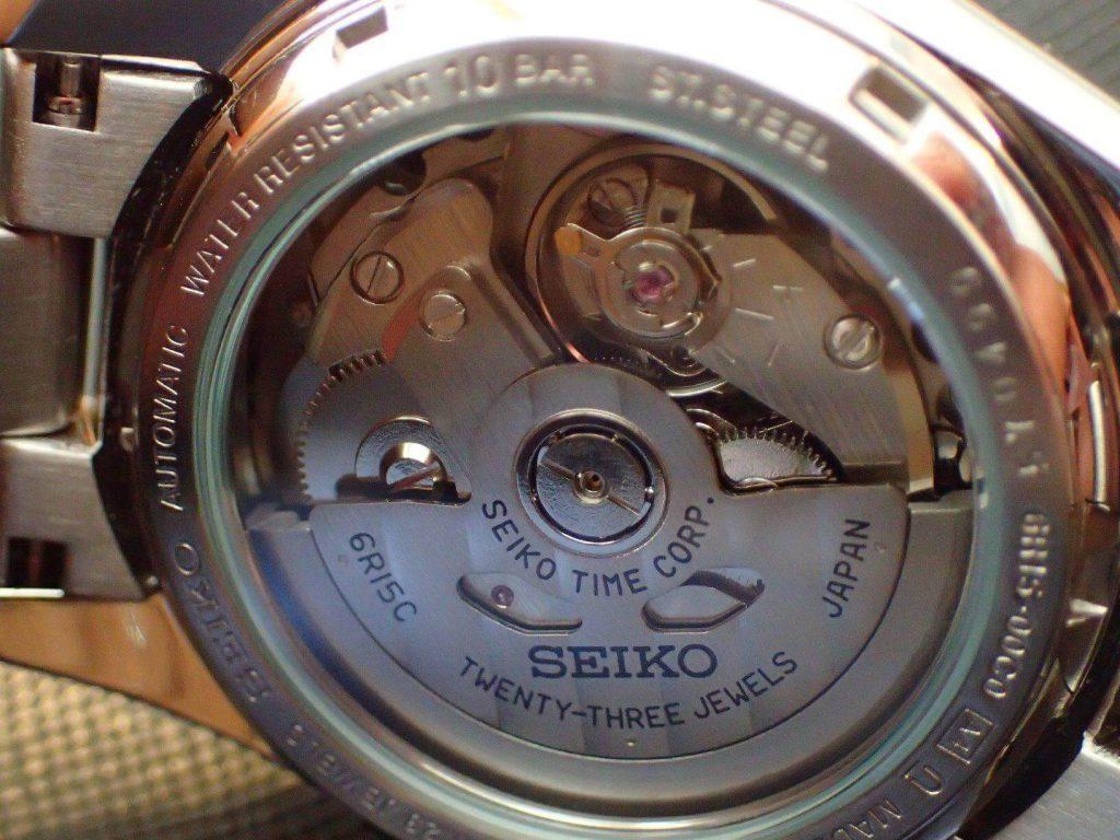 Seiko SARB033 jewel caseback