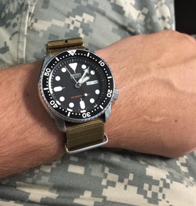 Seiko SKX007 Nato