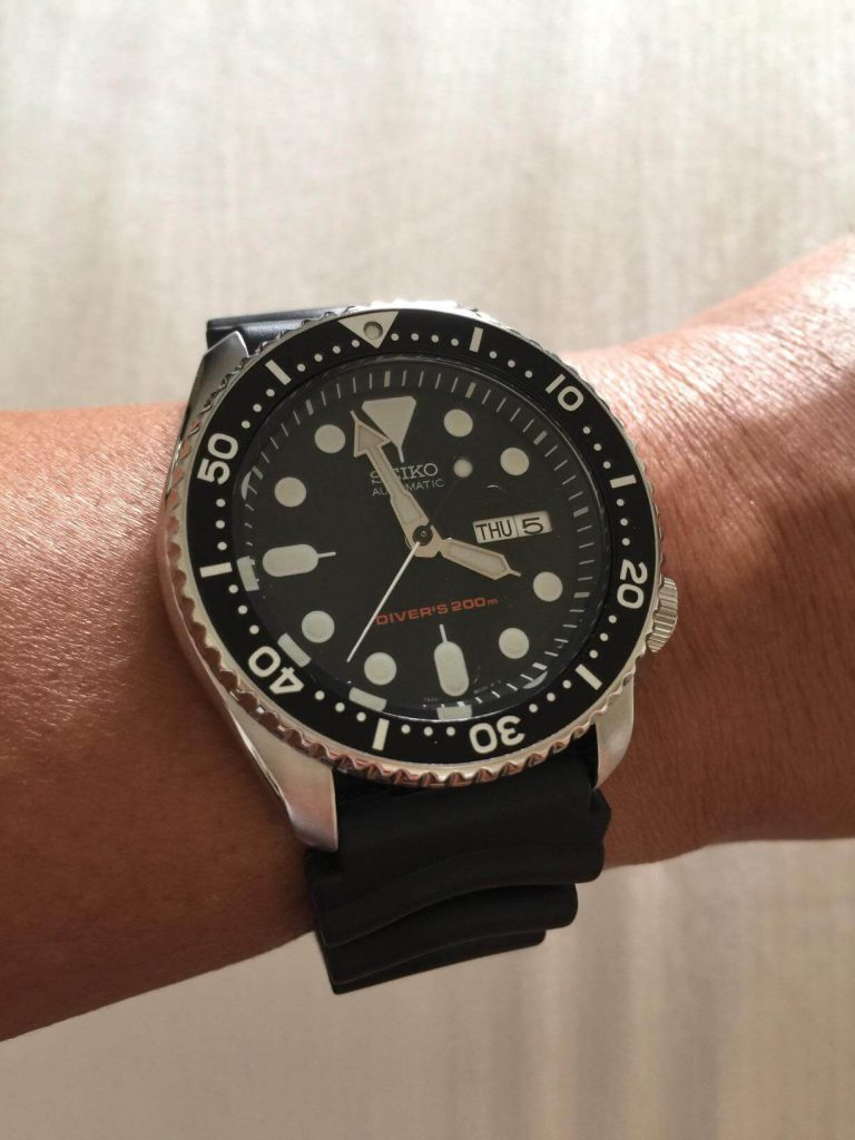 what is watch water resistance seiko skx007