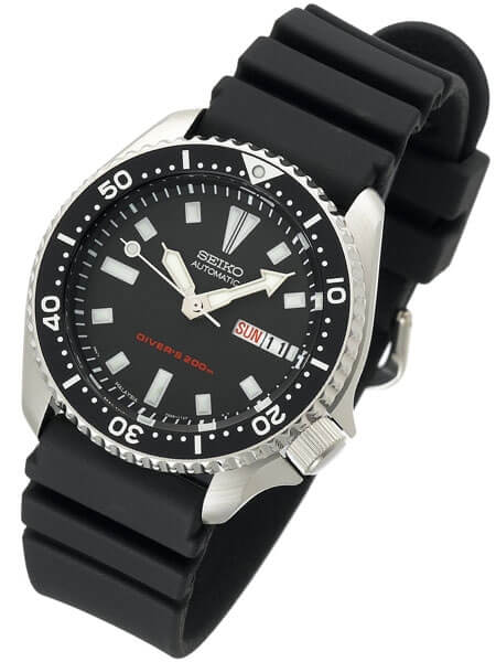 Seiko SKX173 review front 2
