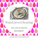 Watch Jewel Bearing