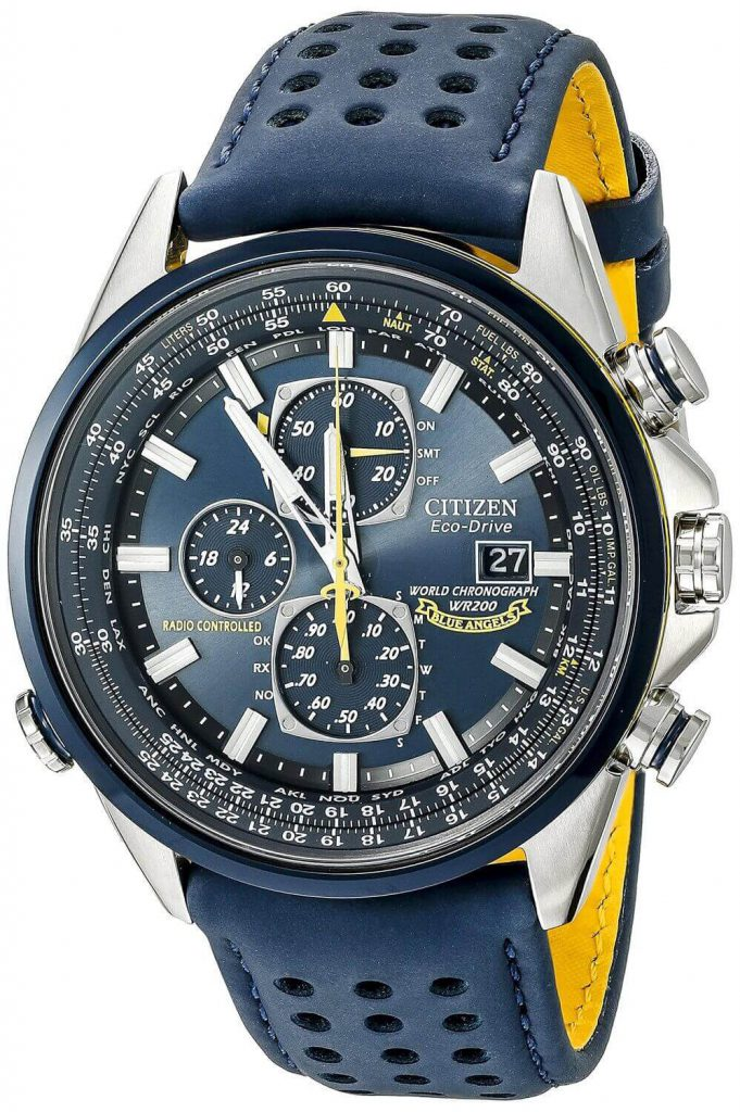 Slide Rule On Watch Bezel Automatic Watches For Men