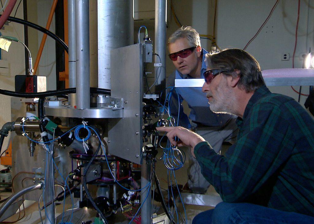 NIST-F2 Caesium Fountaion Clock