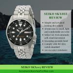 Seiko SKX013 Review