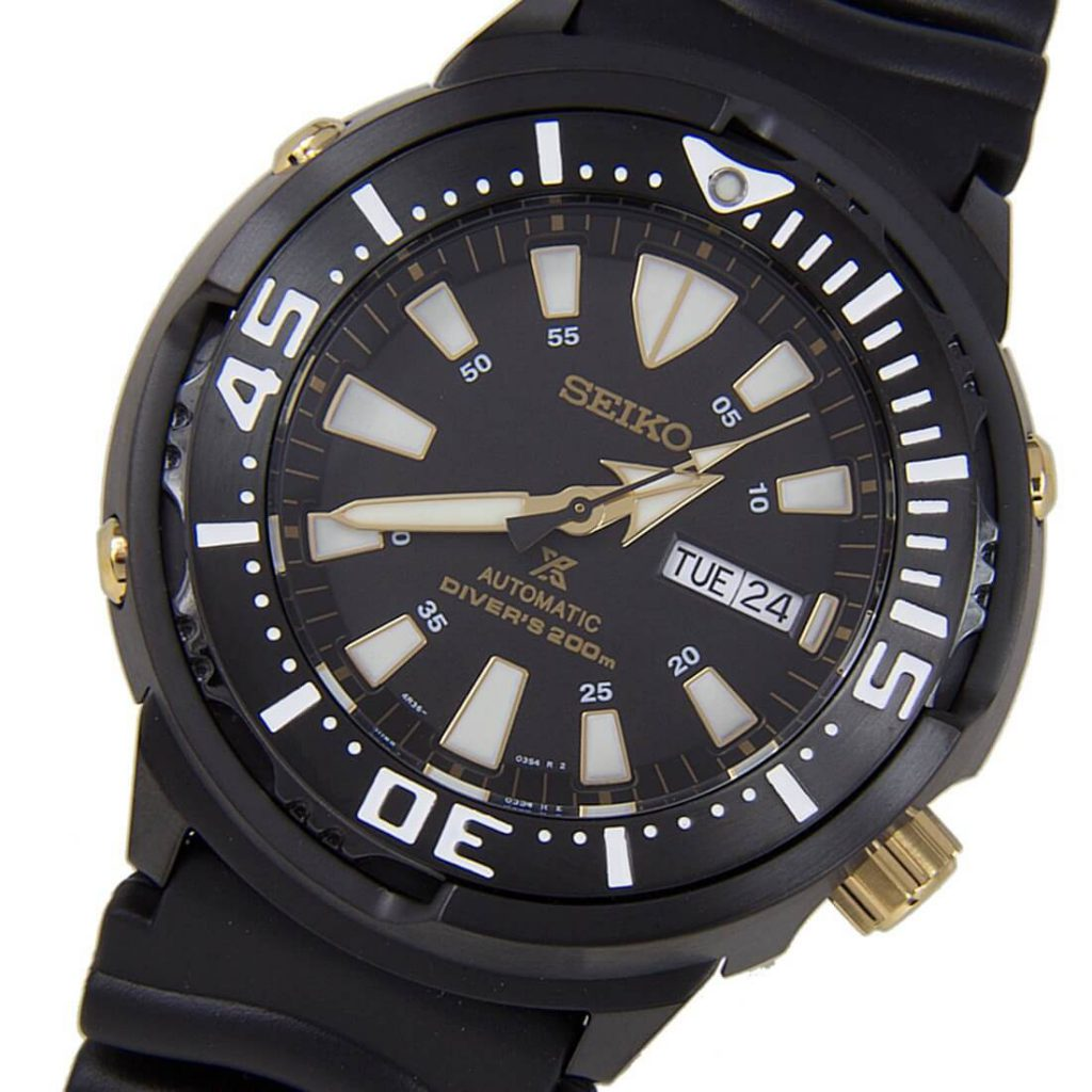 Seiko SRP641 baby tuna black dial