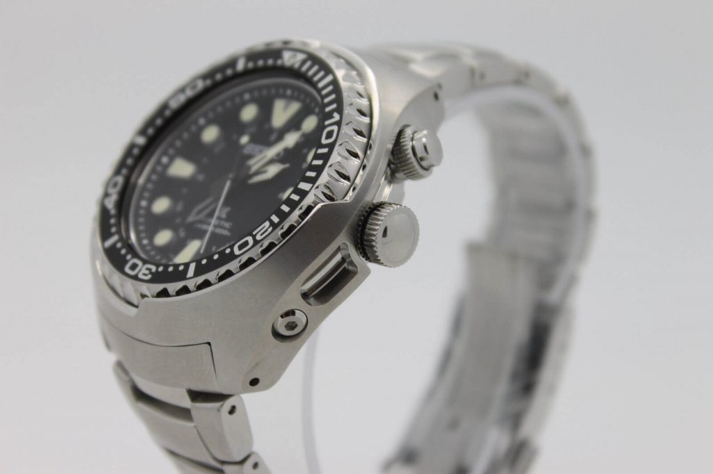 Seiko SUN019 from side