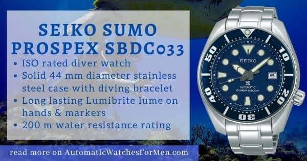 Seiko Sumo Review