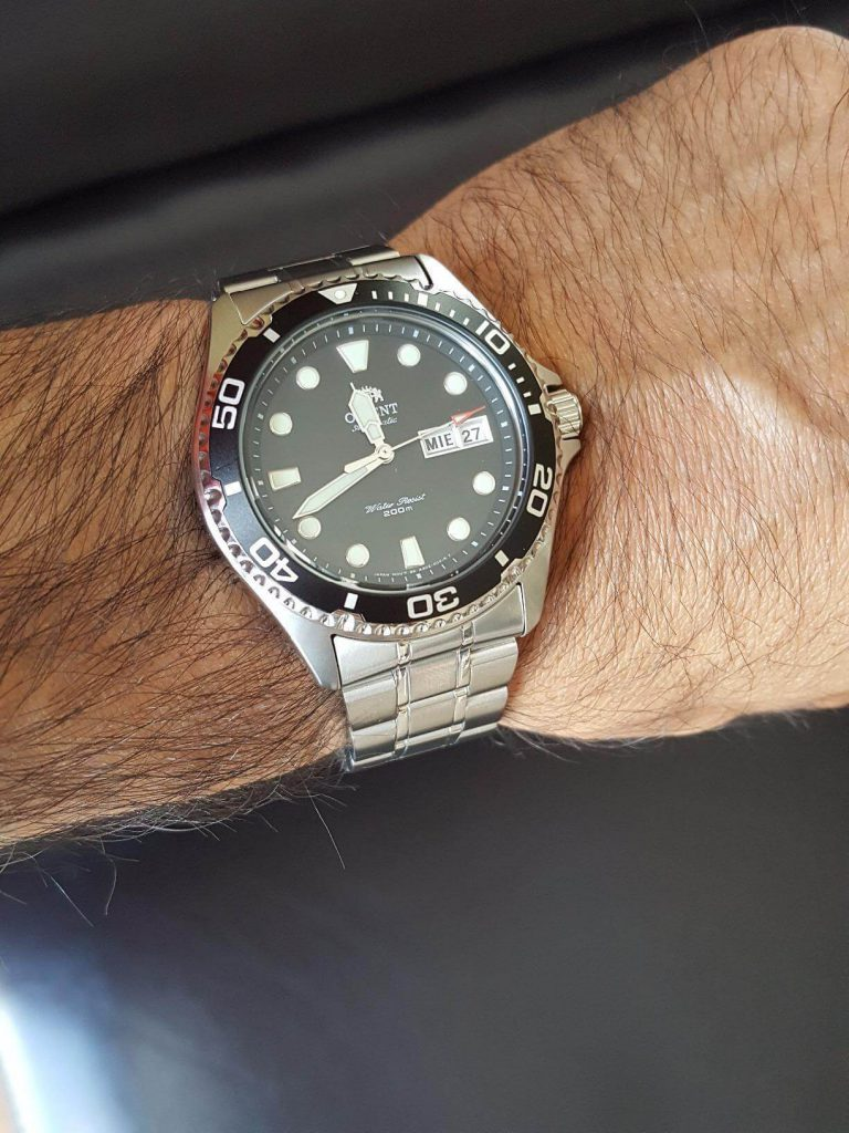 orient ray ii on hand