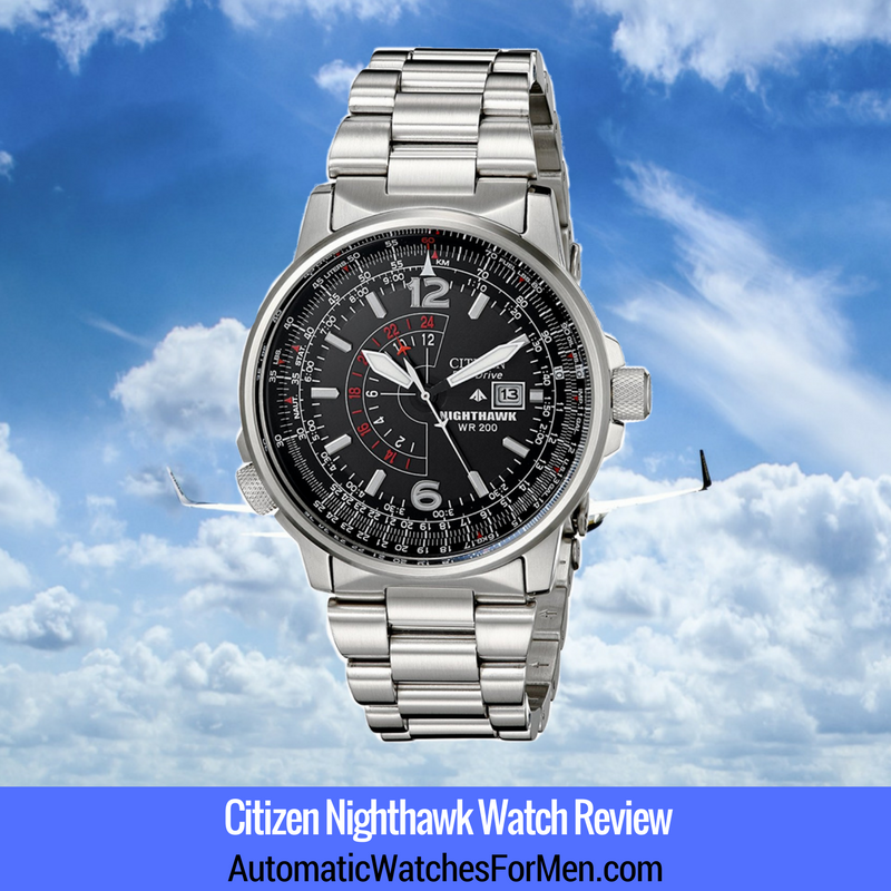 Citizen Nighthawk Watch Review