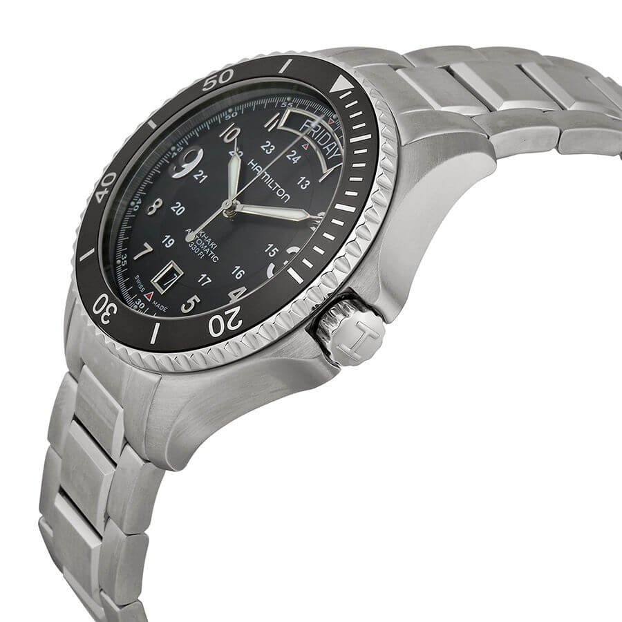 Hamilton Khaki King Scuba side