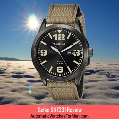 Seiko SNE331 Review