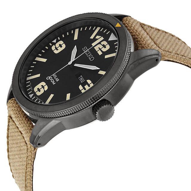 Seiko SNE331 side watch