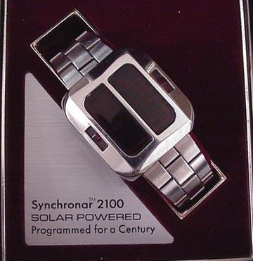 Synchronar watch