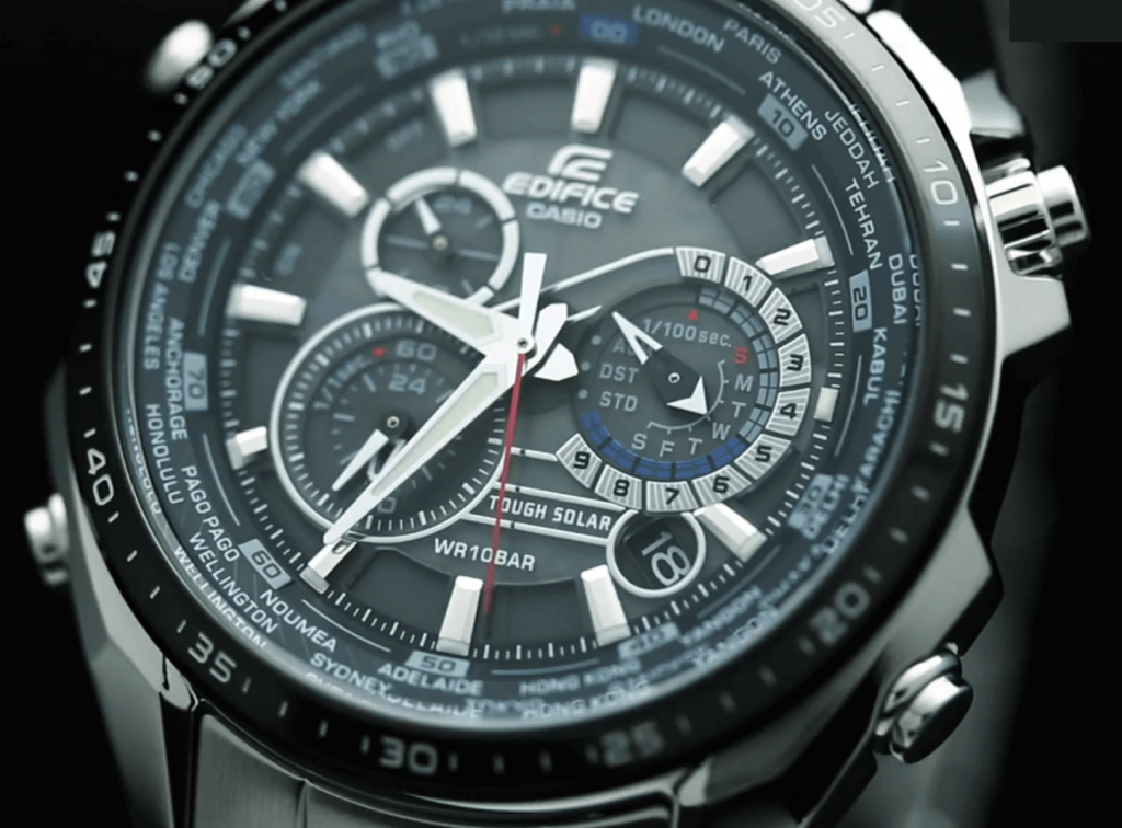 Casio Edifice dial