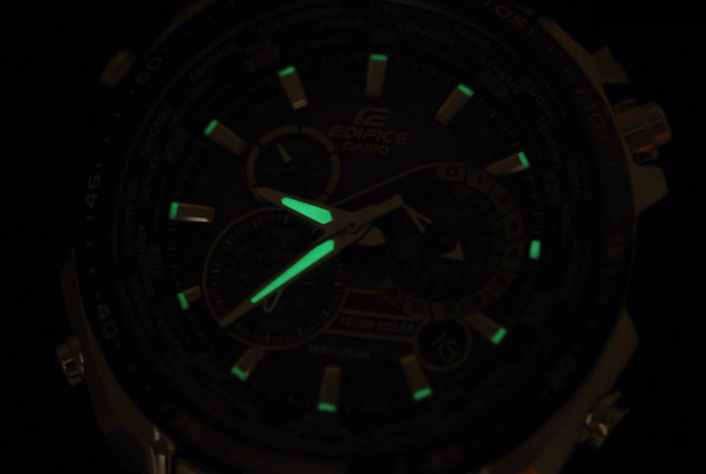 Casio Edifice lume