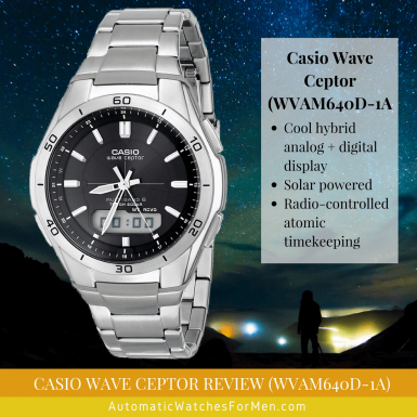 Casio Wave Ceptor Review (WVAM640D-1A)