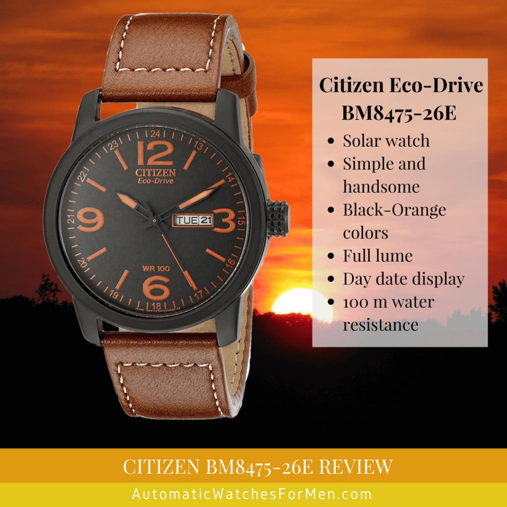 Citizen BM8475-26E Review