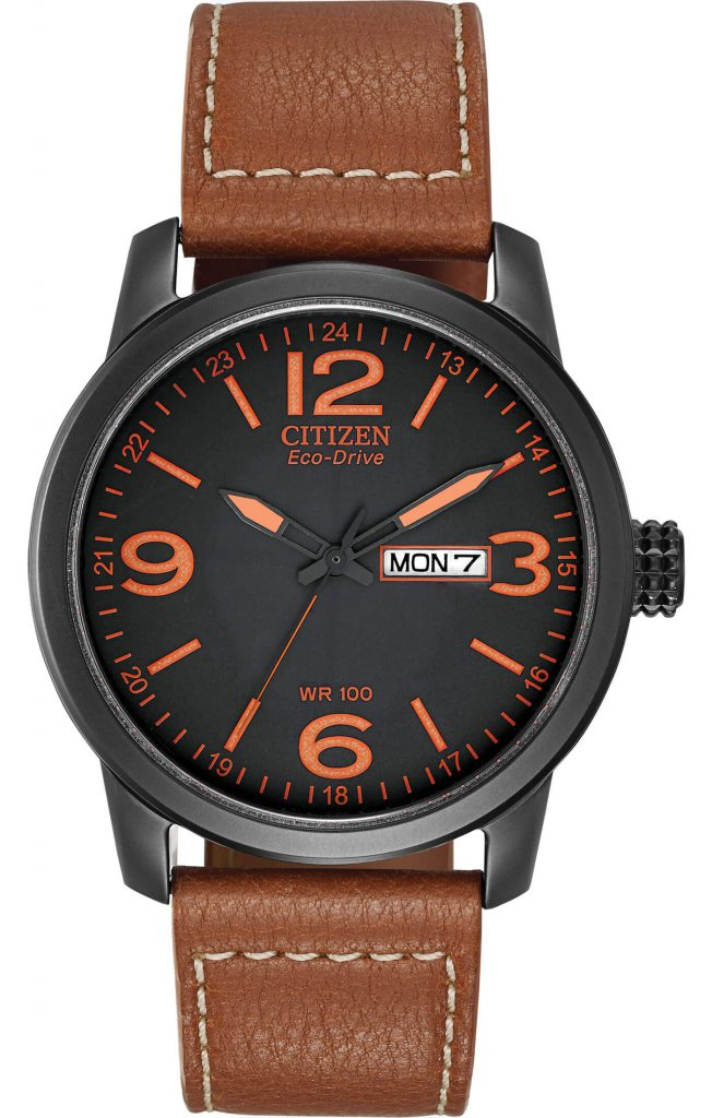 Citizen BM8475-26E black orange dial