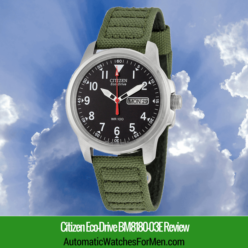 Citizen Eco-Drive BM8180-03E Review