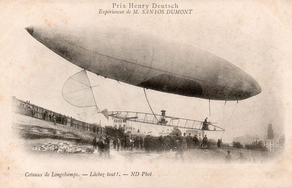 Santos-Dumont Dirigeable Airship No.6