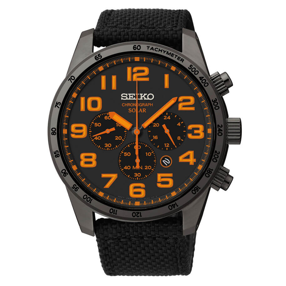 Seiko SSC233 watch front