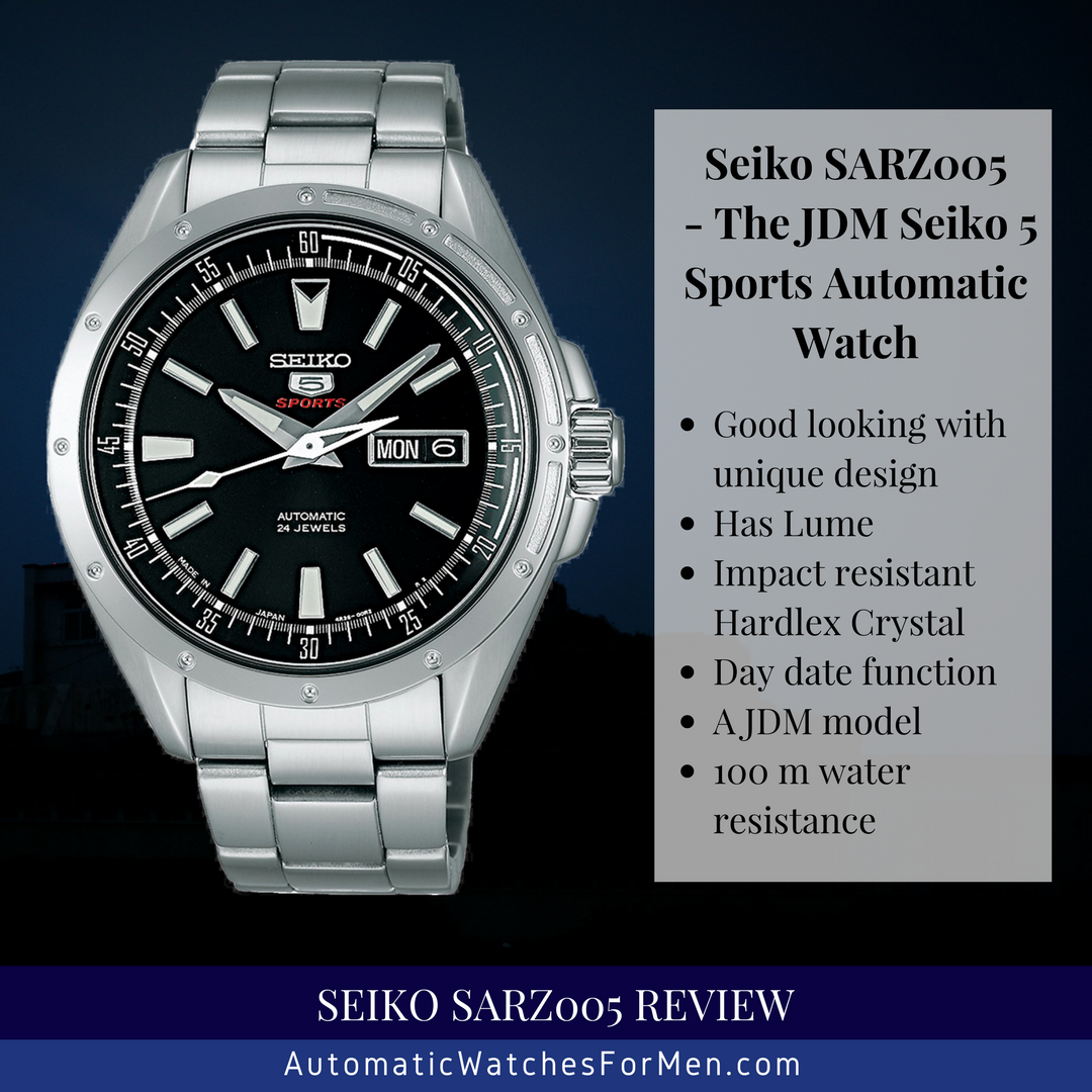 Seiko SARZ005 Review