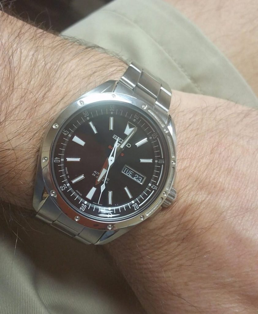 Seiko SARZ005 on hand