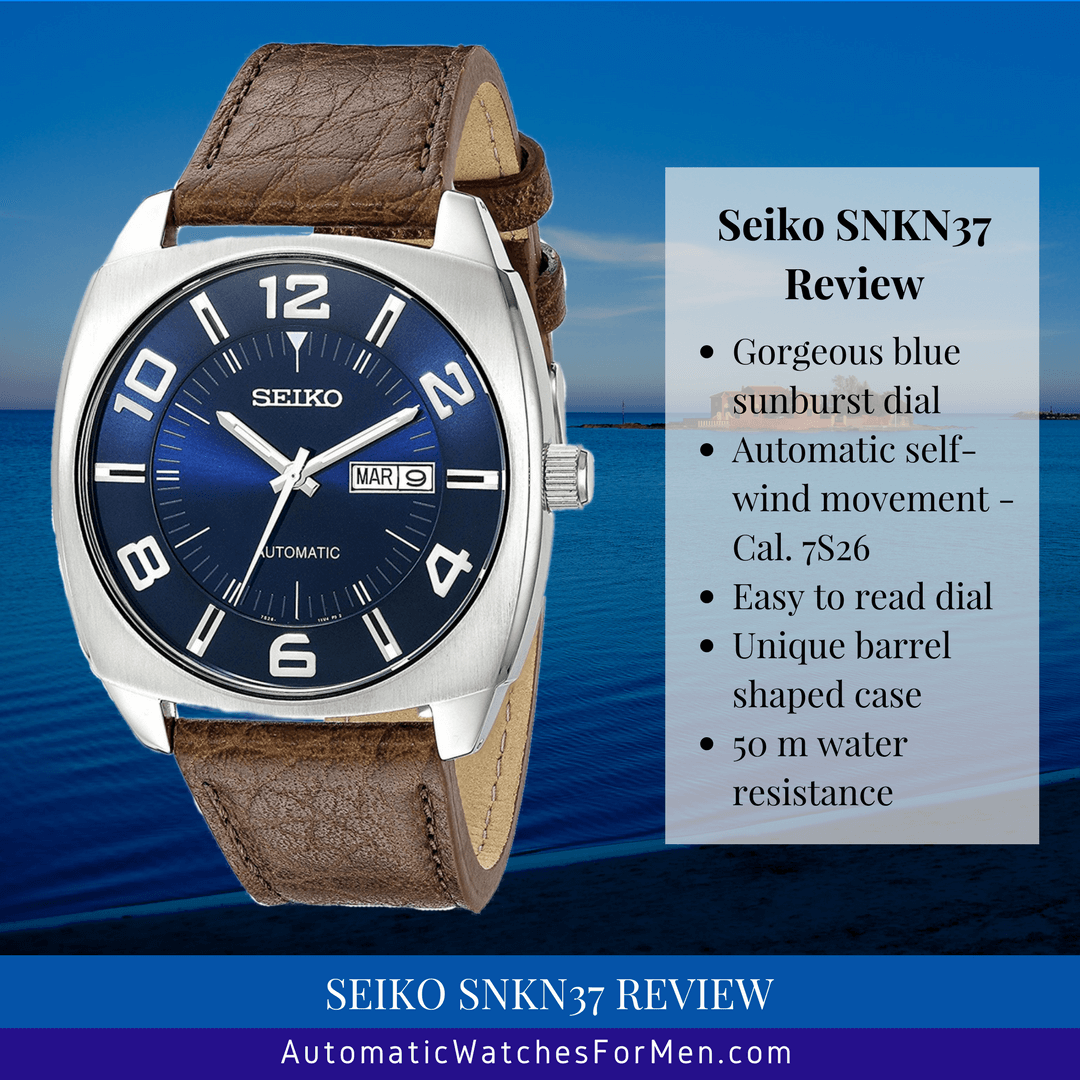 Seiko SNKN37 Review