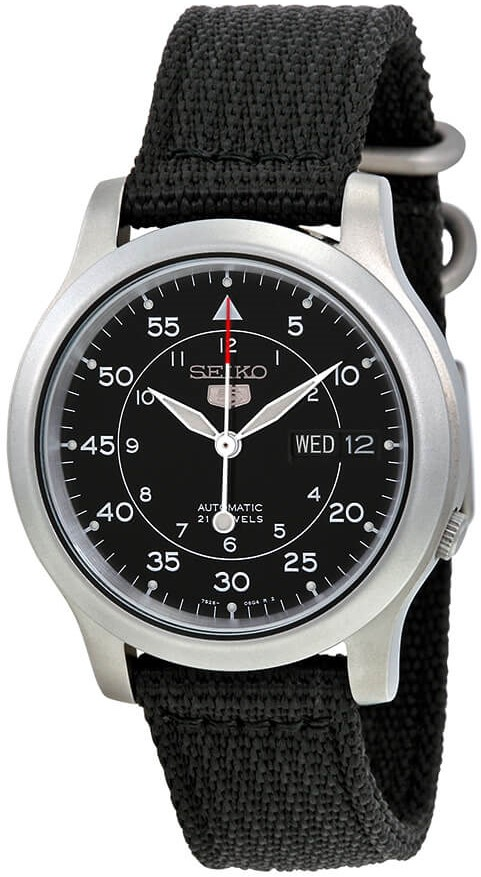 1. Seiko SNK809 Military Watch