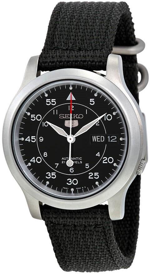 1. Seiko SNK809 Military Watch
