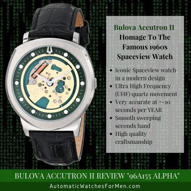 Bulova Accutron II Review 96A155 Alpha