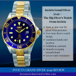 Invicta Grand Diver 3049 Review