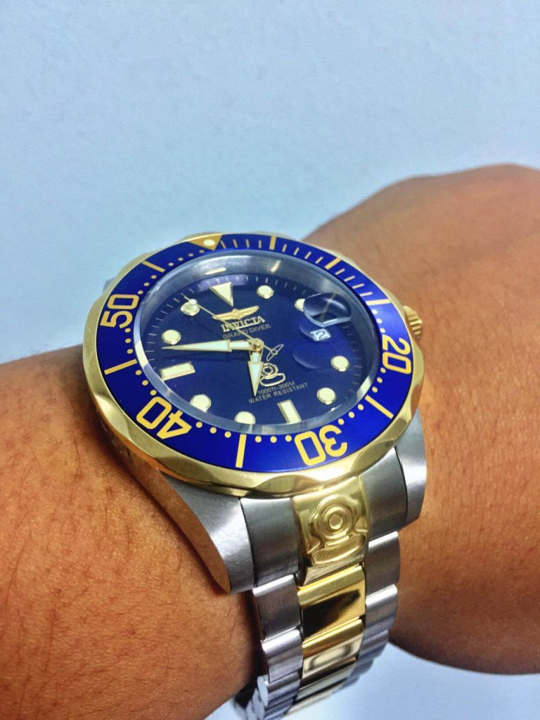 Invicta Grand Diver 3049 on hand
