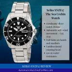 Seiko SNZF17 Review