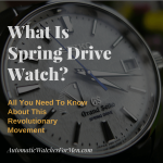 What Is Spring Drive Watch-