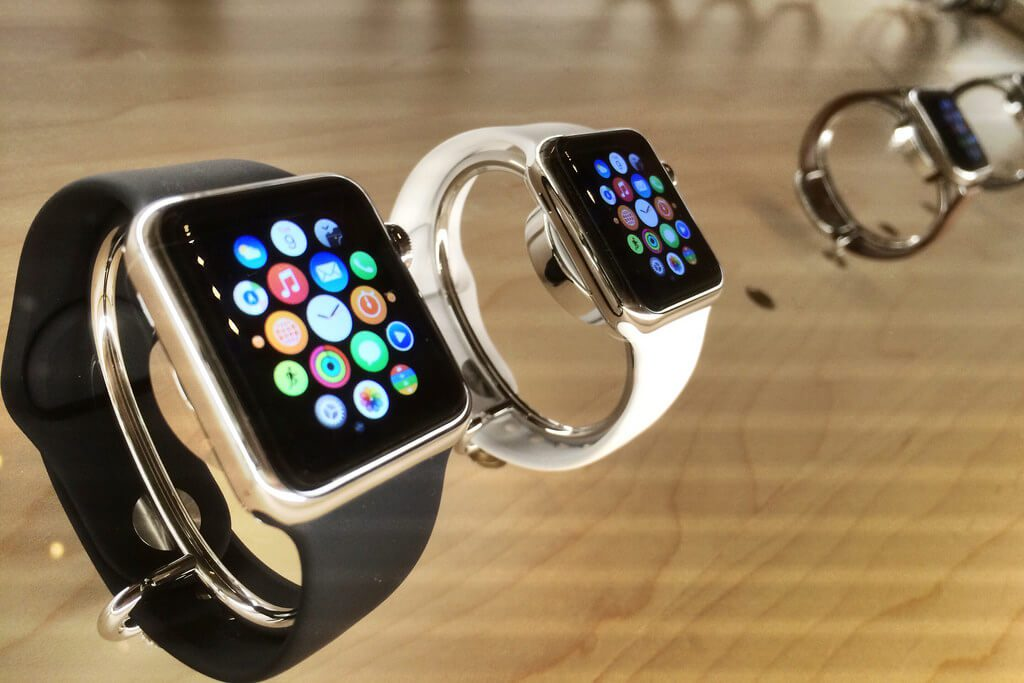 11. Apple watch touchscreen