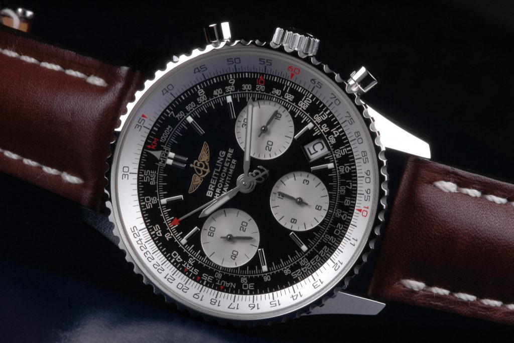 13. Breitling Navitimer chronograph chronometer