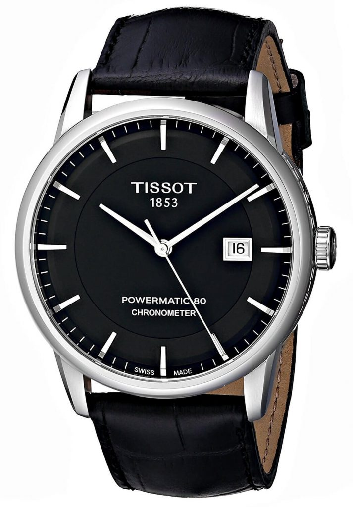 Tissot Powermatic 80 chronometer dial