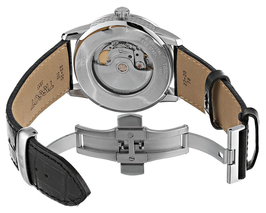 Tissot Powermatic 80 exhibition caseback