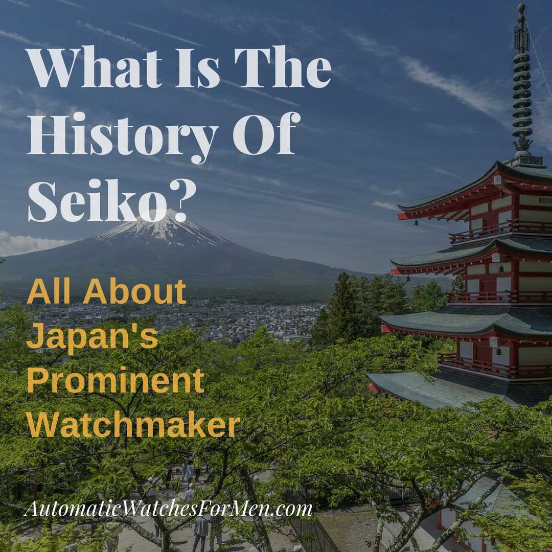What Is The History Of Seiko