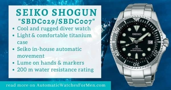 Seiko Shogun Review