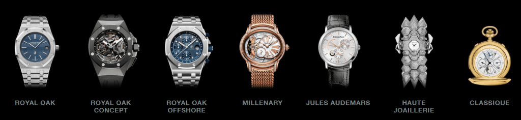 Audemars Piguet watch collection