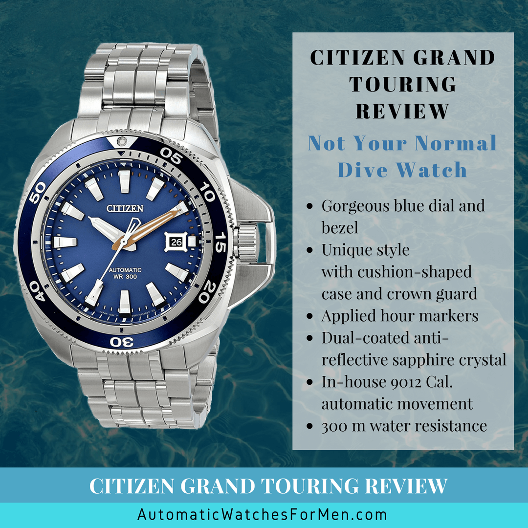 Citizen Grand Touring Review – Not Your Normal Dive Watch