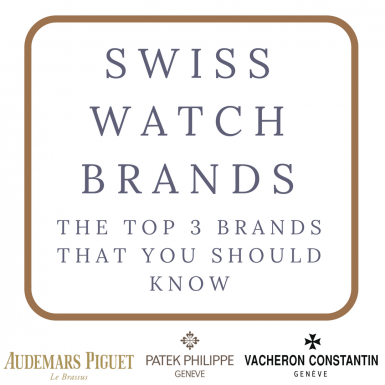 Top 3 Swiss Watch Brands Automatic Watches For Men
