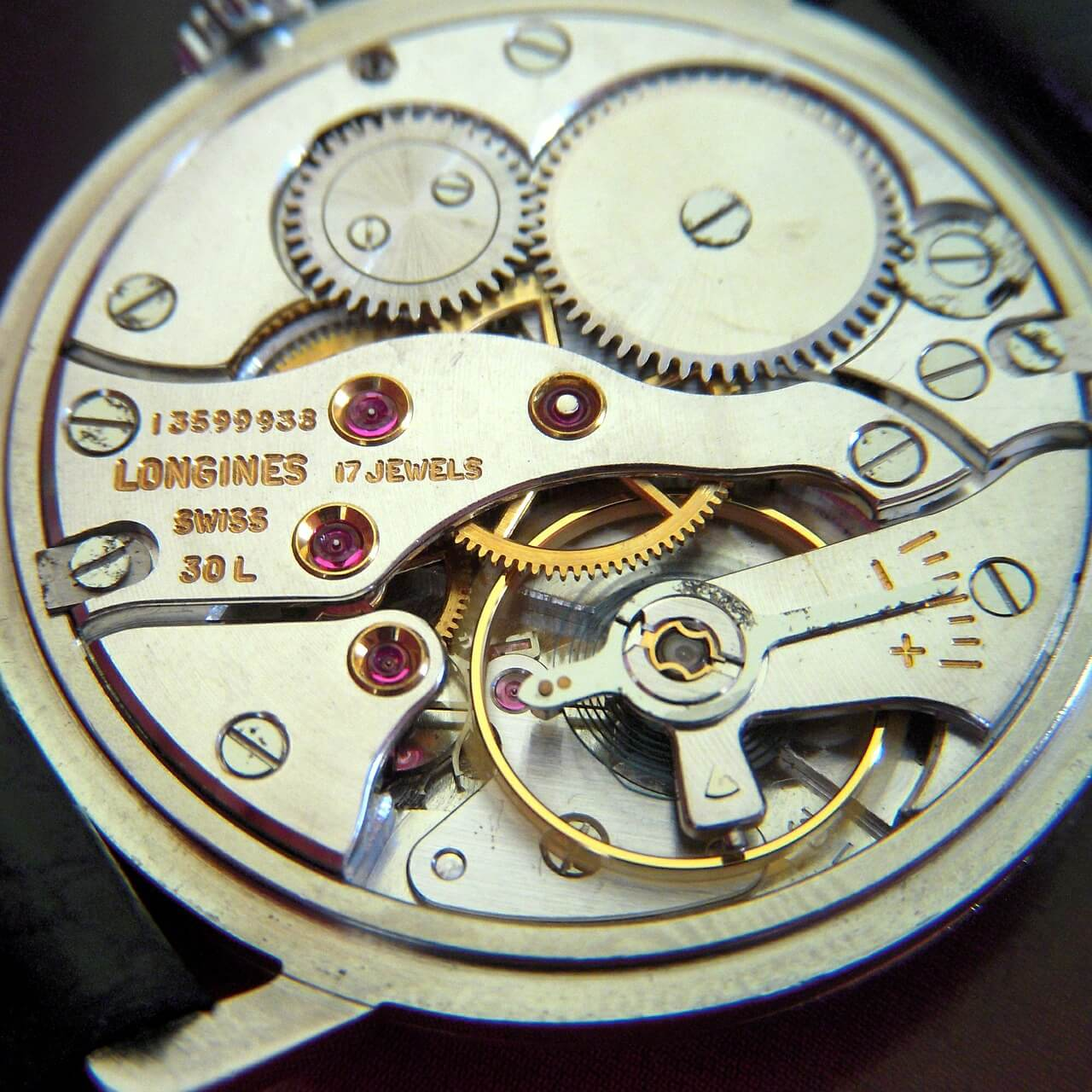 Longines watch movement service